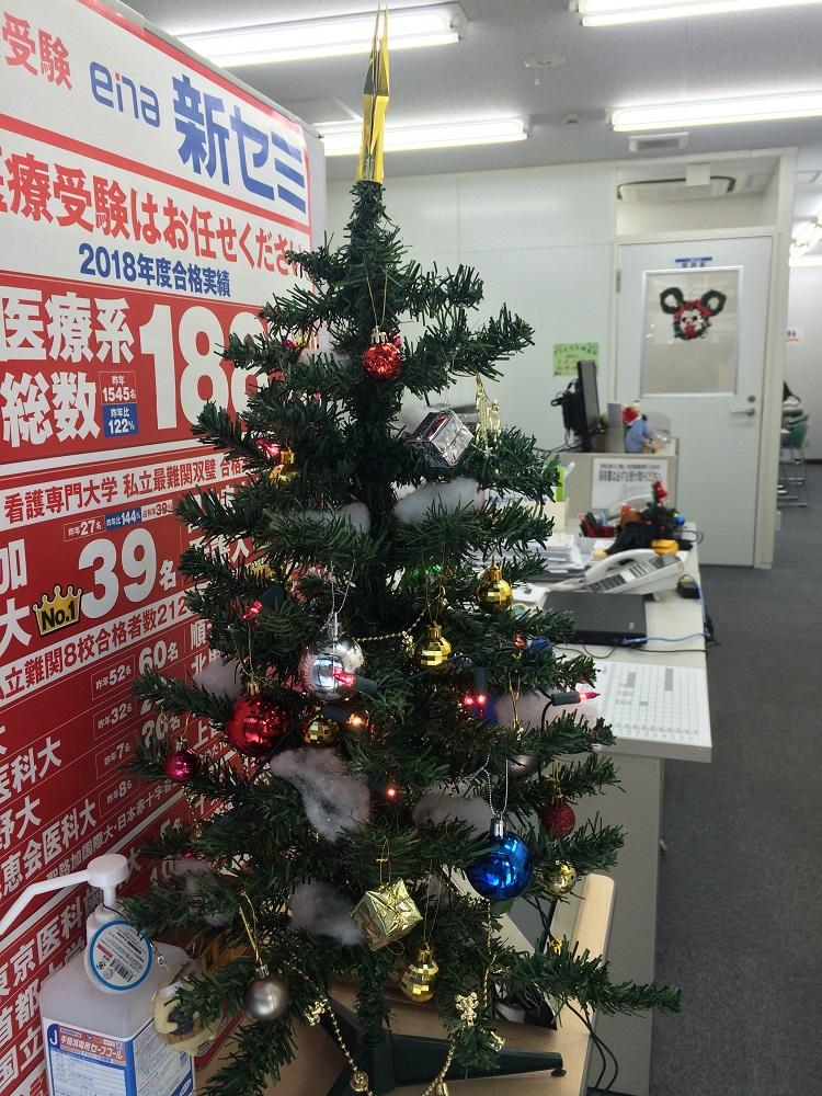 18.12.24 クリスマスツリー(校舎)