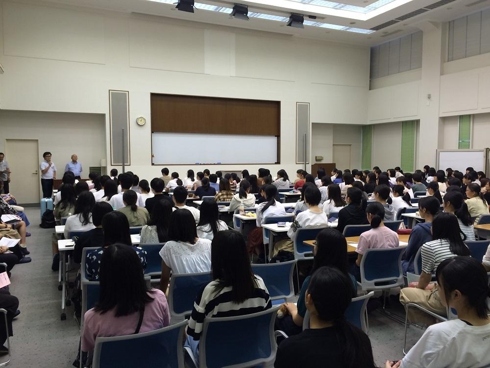 19.7.22 夏期合宿 開校オリエン1