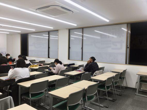 授業教室換気