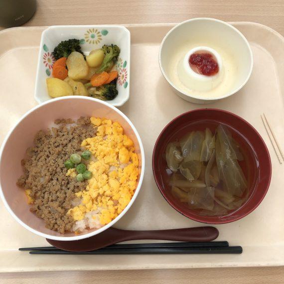 昼食(神奈川県立保健福祉大学)
